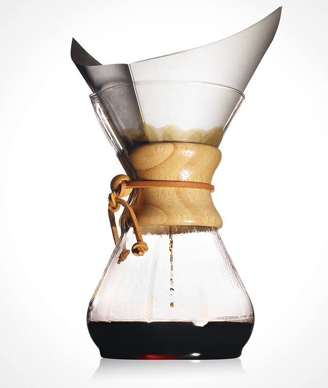 How To Use The Chemex Coffee Maker : Chemex Coffee Maker - Bean There Coffee Company